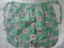 Original vintage aprons never worn