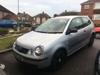 Volkswagen polo 1.2 12 MONTHS MOT 2 PREVIOUS OWNERS SERVICE HISTORY