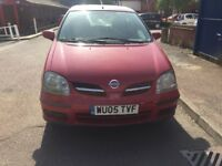Diesel Nissan almera Tino S DCI for sale, MOT, part service history, drives perfect.