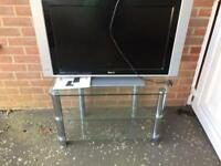 LCD TV for Sale with tv stand