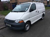 Toyota hiace d4d swb 2.5 very low mileage