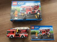 Lego Fire Engine with Box and Instructions