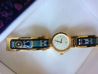 Beautiful Freywille gold watch