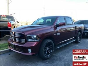 2017 Ram 1500 Sport**DEMO**Only 2552Kms**