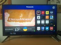 "Panasonic 40"" Ultra HD 4K Smart 3D LED TV, Freeview HD Built In"