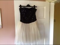 Ladies Party Dress-Sparkly top (10)