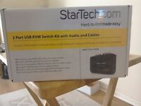 STARTECH 2 PORT USB/KVM SWITCH KIT