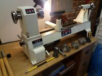 Jet 1220 wood lathe with chucks etc included.
