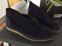 Jones Desert boots brand new blue size 11