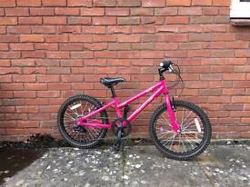 Girls pink Dawes Paris Bicycle