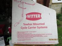 Witter Towbar Cycle Carrier for 3/4 bikes