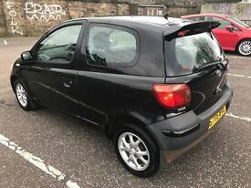 2005 TOYOTA YARIS VVTI COLOUR COLLECTION-1.3L -3-DOOR HATCHBACK MANUAL PETROL SERVICE HISTORY