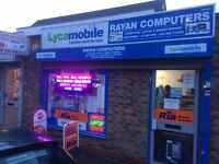 Computer & Phone Repairs , free diagnosis , windows installation £25 ,small phones from £20