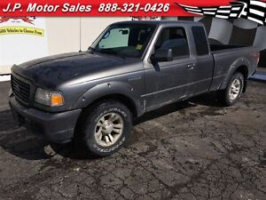 2008 Ford Ranger Sport, Extended Cab, Automatic, Bed Liner, 4x4