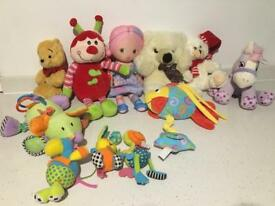 Soft toys bundle