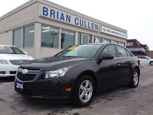 2014 Chevrolet Cruze 2LT/HEATED LEATHER SEATS.