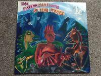 """THE FATIMA MANSIONS - VIVA DEAD PONIES. 12"""" VINYL LP"""
