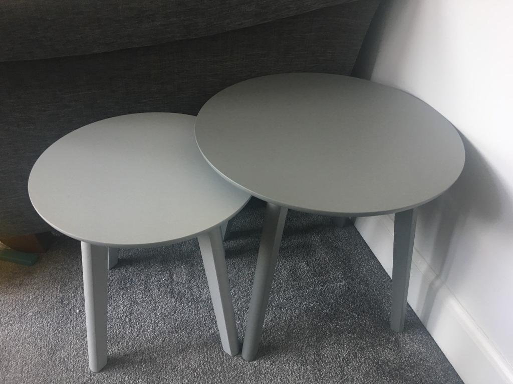 John Lewis Dillon Nest Side Tables X2 Brand New