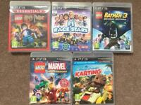 Kids PlayStation 3 / PS3 games