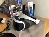 playstation vr bundle with aim controller and move!