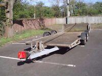 Hazlewood 3000kg twin axle car transporter plant trailer