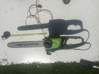 Electric Chainsaw for sale good condition 16 inch cut try b4 you buy good blade x