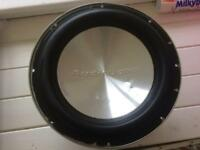 "12"" Audiobahn ALUM12 Subwoofer (NOT Alpine JBL Kicker JL Hifonics Rockford )"