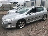Peugeot 407sw diesel 2005 year Spare Parts Available