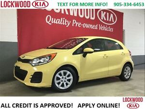2016 Kia Rio LX+ BLUETOOTH, HEATED SEATS