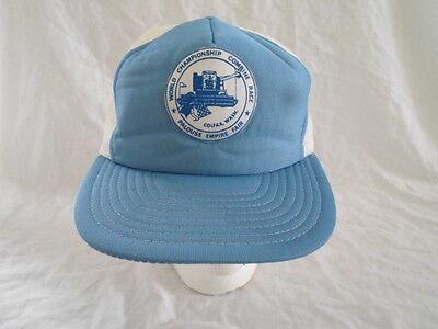 Vintage Baseball Cap Hat Snapback Palouse Empire Fair Colfax WA Combine Race (Empire Baseball Hat)