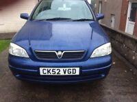 Vauxhall Astra 1.6 Petrol 52 plate