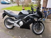 Kawasaki er6f 2007 black