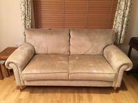 Laura Ashley two seater Kingston fabric sofa
