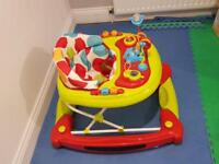 Baby walker out of box , hardly used