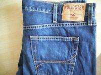 hollister slim straight jeans w 36 x l 32