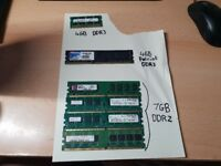 Desktop/Laptop Ram & Motherboard (Prices in description)