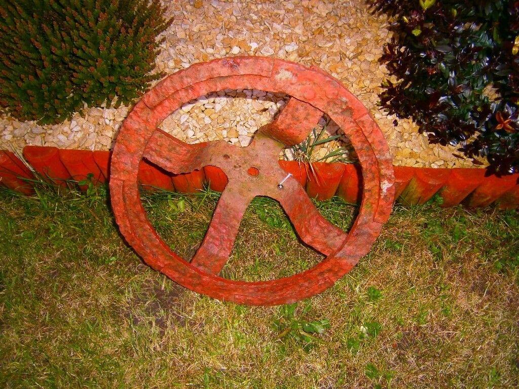 rare vintage antique tractors wheel original