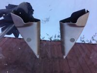 Peugeot 206 electric wing mirror covers