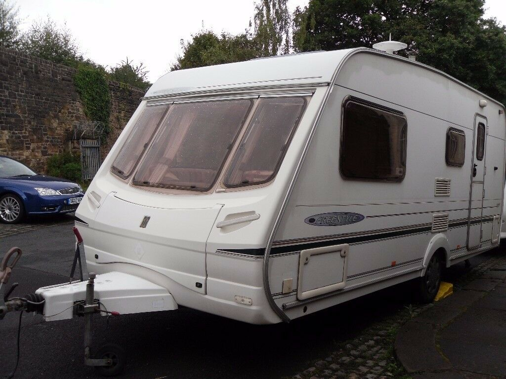 Abbey Freestyle Four Berth Touring Caravan