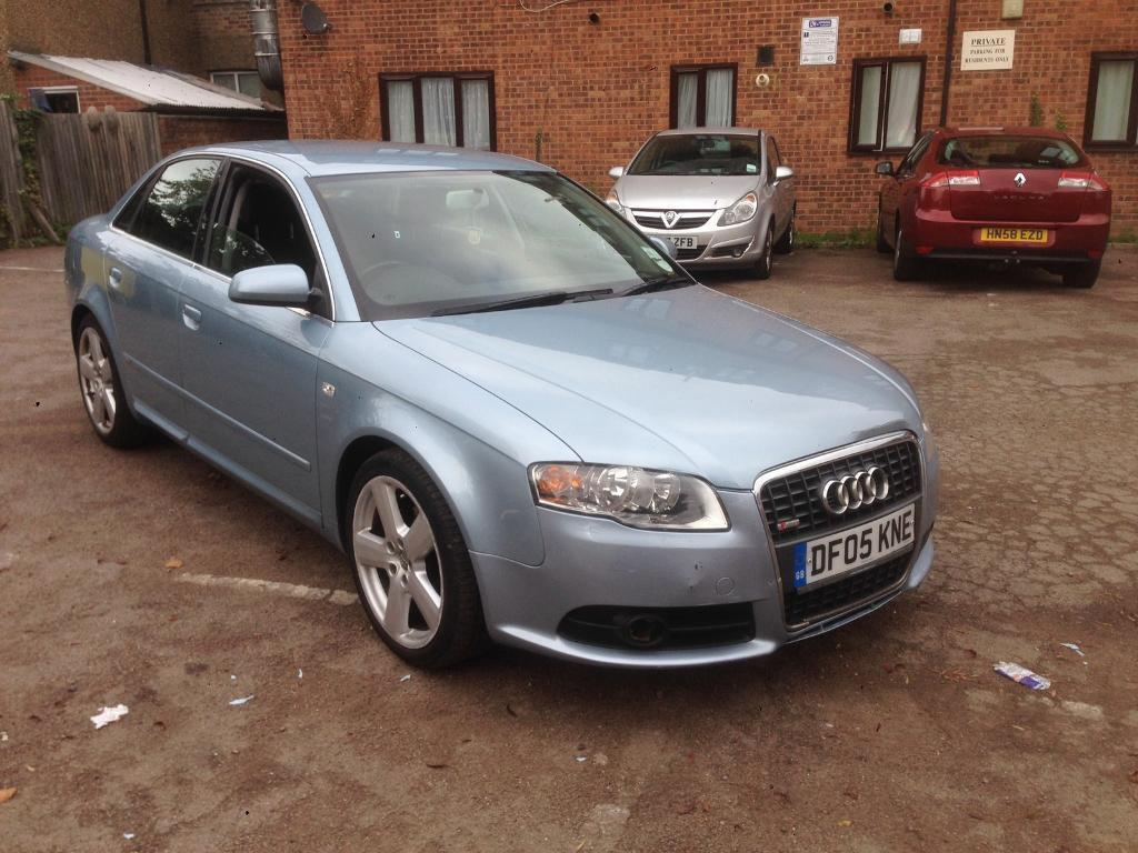 Audi A4 2.0 tdi S line 05 plate automatic motd very good condition £2700