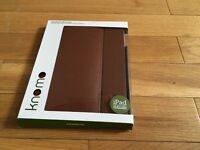 Knomo IPad leather case fits 3rd generation & iPad 2
