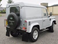LAND ROVER DEFENDER 90 4wd DIESEL 2.4 COUNTY PACK 2009 LOW MILES 45K FSH ONE PR. OWNER PX WELCOME