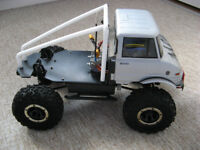 MST CFx-w Chassis with Tamiya UniMog Cab (Rock/Trail Crawler)