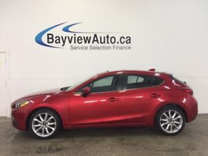 2014 Mazda Mazda3 - SUNROOF! HTD SEATS! NAV! BLUETOOTH! REV CAM!