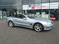 2003 03 MERCEDES-BENZ SL 5.0 SL500 2d AUTO 306 BHP FREE 12 MONTHS MOT **** GUARANTEED FINANCE ****