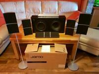 Jamo 5.1 speakers with 180w subwoofer