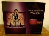 Kylie minogue music box perfume set