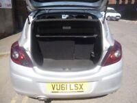 Vauxhall CORSA SXI Sport,3 door hatchback,2 lady owners,full MOT,sports interior,runs very well,55k
