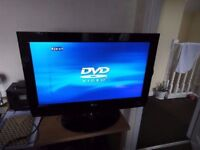 """26"""" LG, HD TV, Built in DVD Player.. (Read advert please, NO TEXTS!)"""