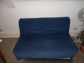 Sofa Bed IKEA LYCKSELE MURBO BLUE